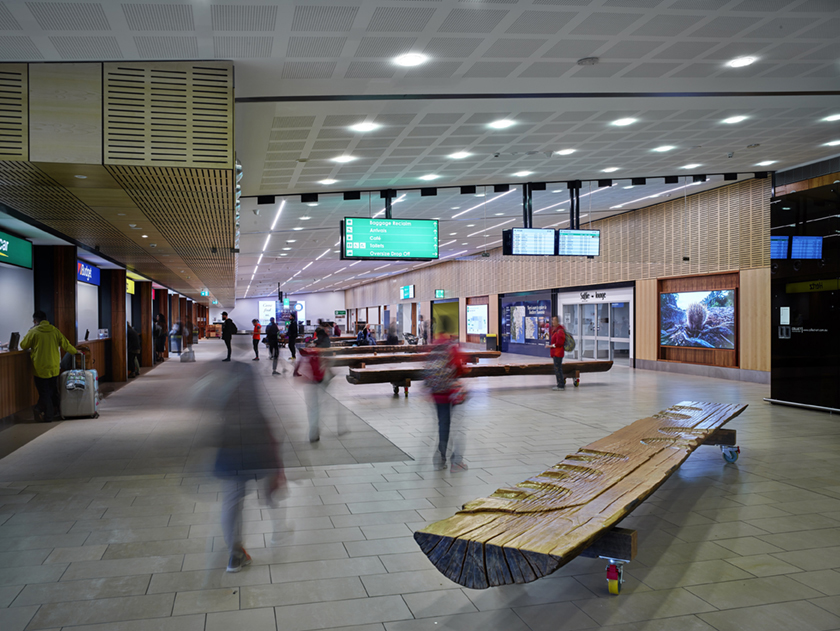 Hobart Airport Internals