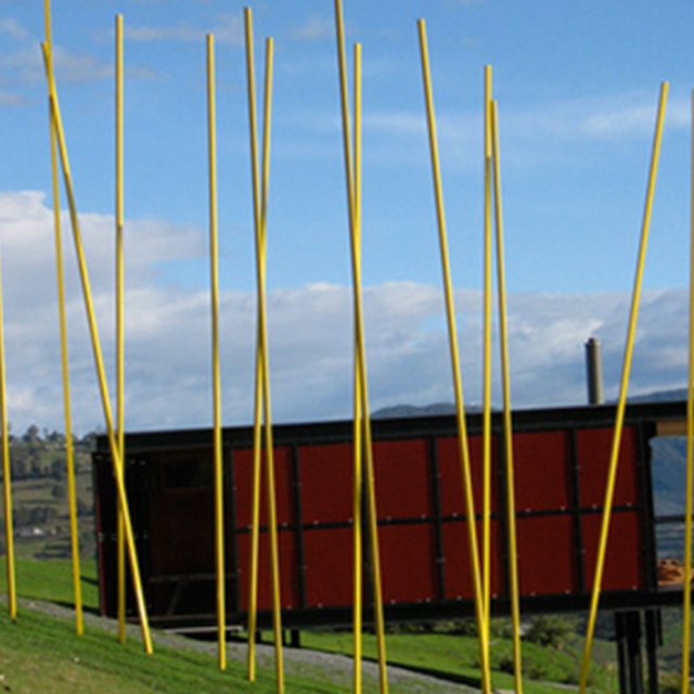 Wattle in the Wind, Huon Sculpture